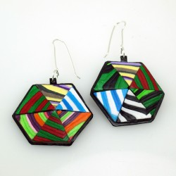 Paper Earrings 102