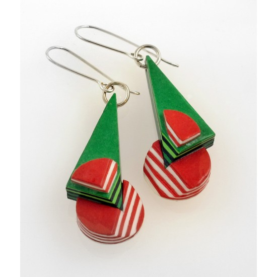 Paper Earrings 105