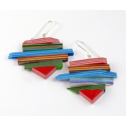 Paper Earrings 106 / Yiannis Margetis